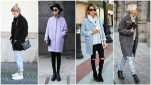 ТОП-14 моделей осенних пальто для женщин