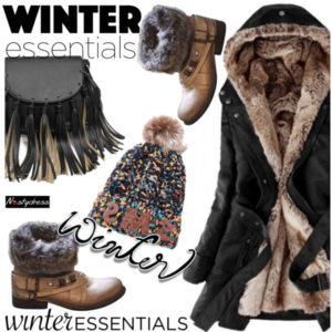 Основной гардероб на зиму для женщины 40 лет
