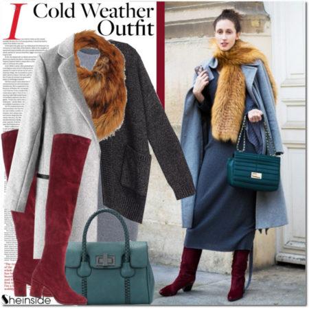 14 интересных идей в зимней одежде для женщины 40 лет