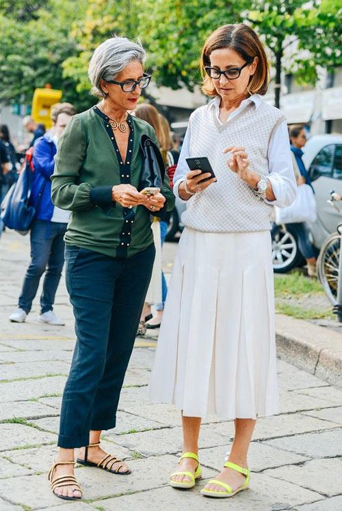 15 советов, которые помогут быть модной после 50 лет