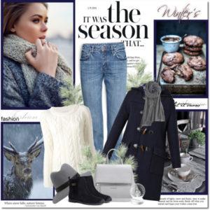 Основной гардероб на зиму для женщины 40 лет: 14 свежих идей+50 фото