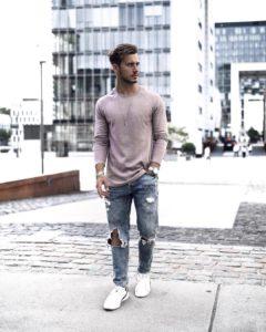 Какую одежду выбрать высокому худому парню