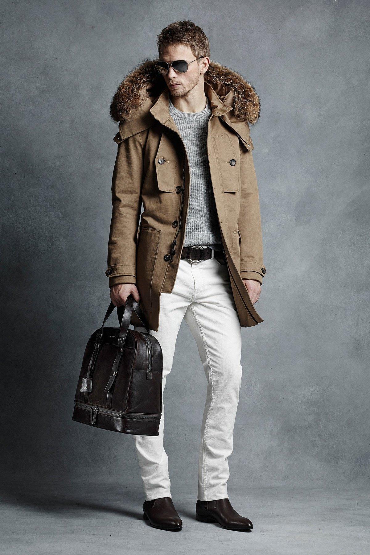 виды фото как модно одеться зимой мужчине тебе, родная