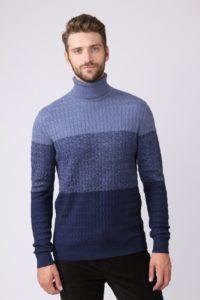 Стильные мужские свитера: модные модели и фасоны