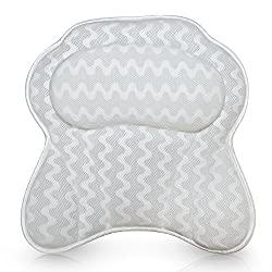 Как выбрать подушку-подголовник для ванны
