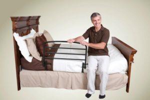 Топ лучших ограждений для кровати для лежачих больных, пожилых людей и инвалидов