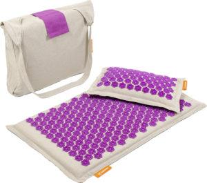 Топ лучших  массажных акупунктурных ковриков с подушкой по соотношению цены и качества