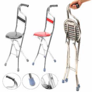Рейтинг лучших складных тростей-стульев  с сиденьем для пожилых людей