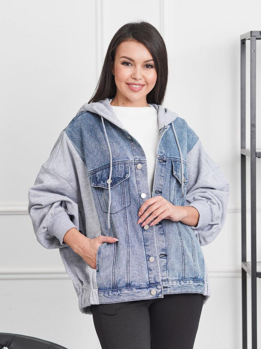 Лучшие женские джинсовые куртки оверсайз