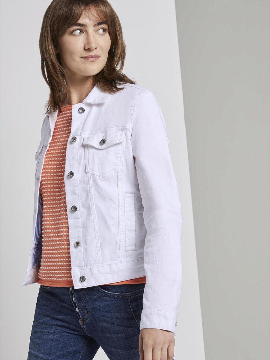 Лучшие белые женские джинсовые куртки