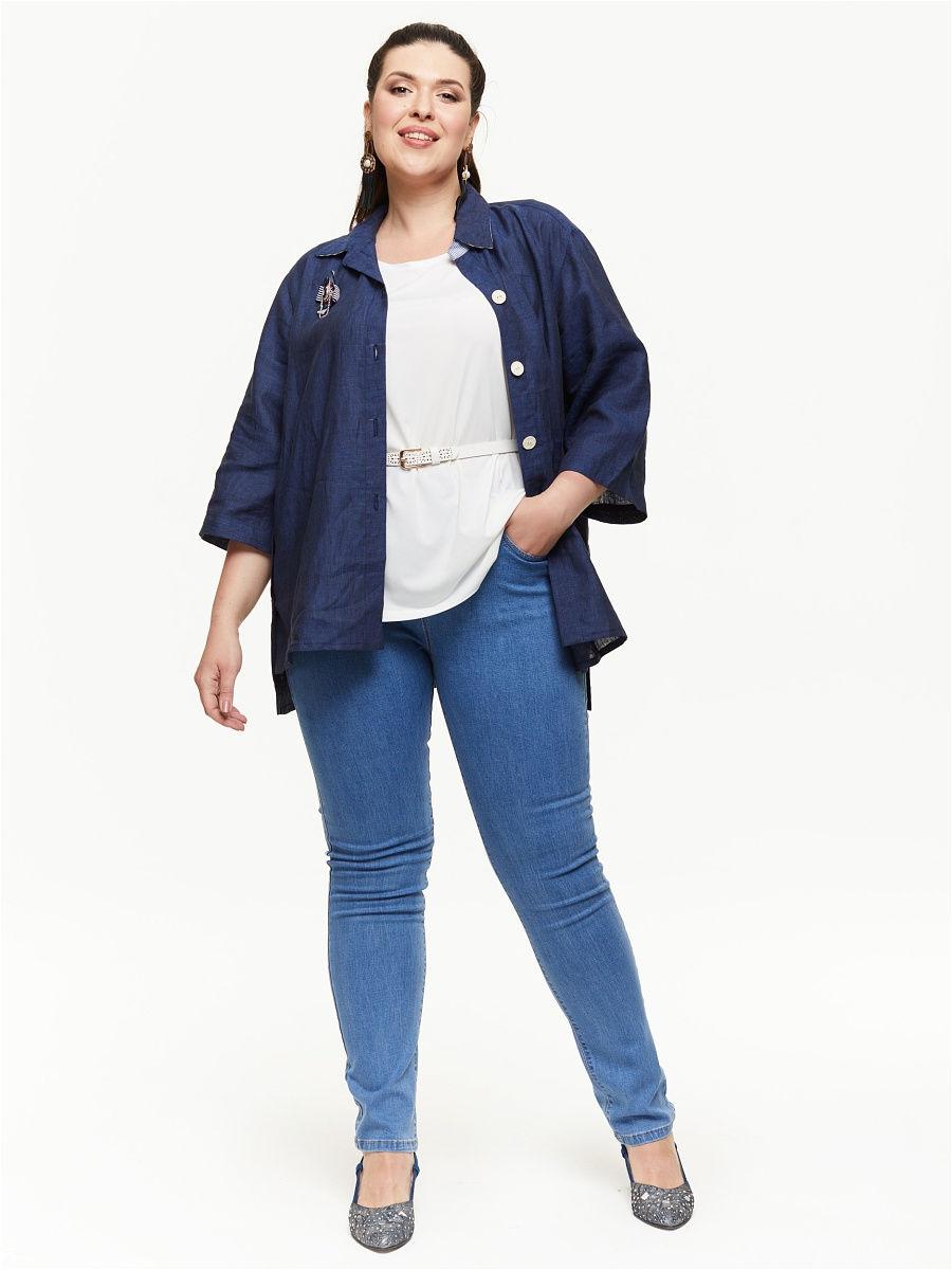 Лучшие узкие джинсы больших размеров