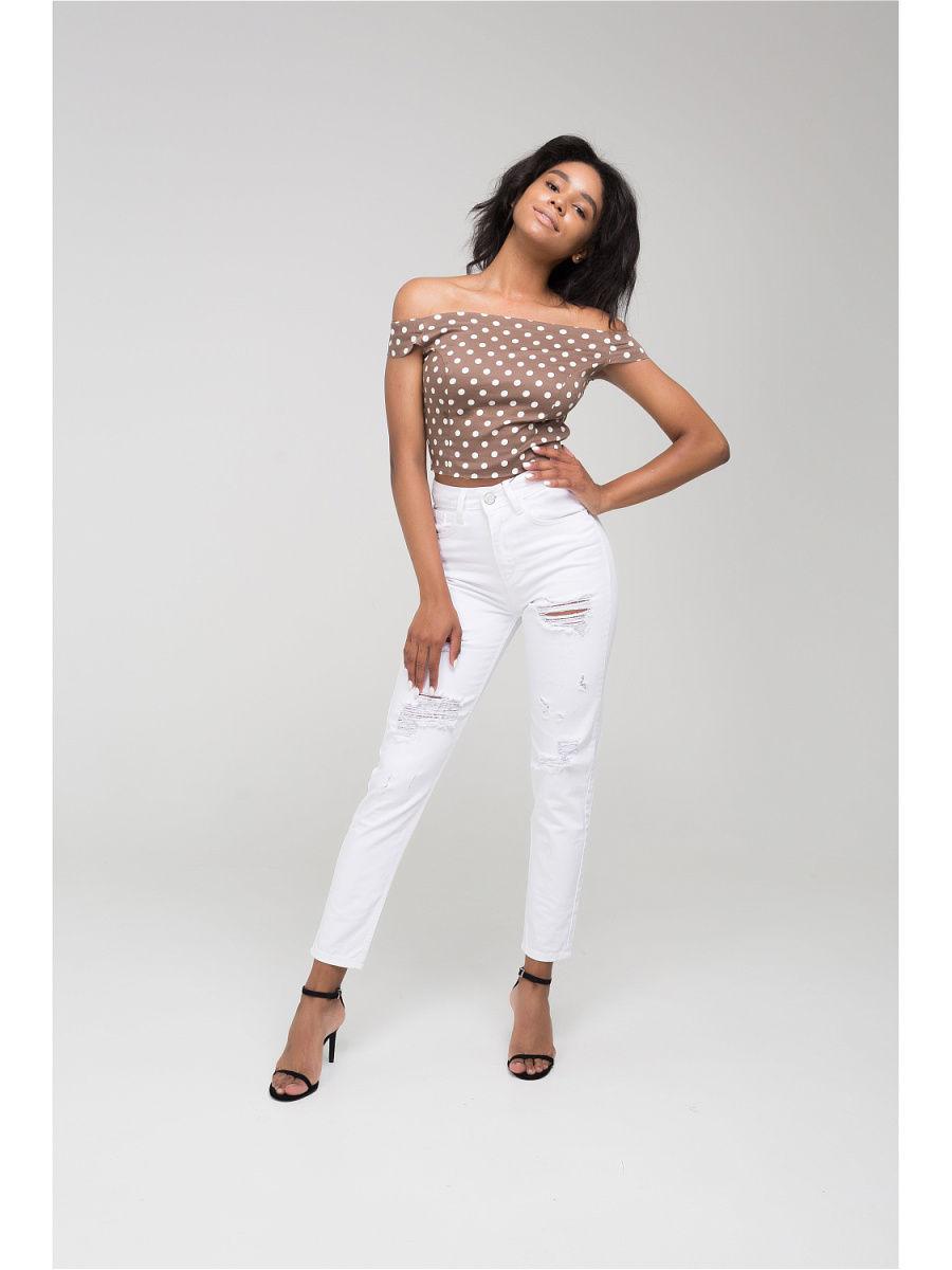 Лучшие белые узкие женские джинсы