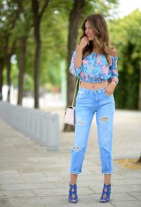 Топ 10  лучших женских джинсов с высокой талией