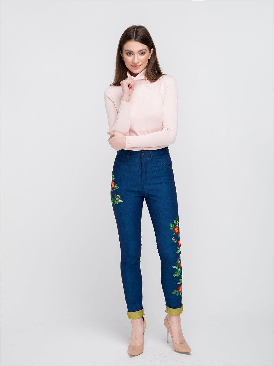 Лучшие женские джинсы с вышивкой