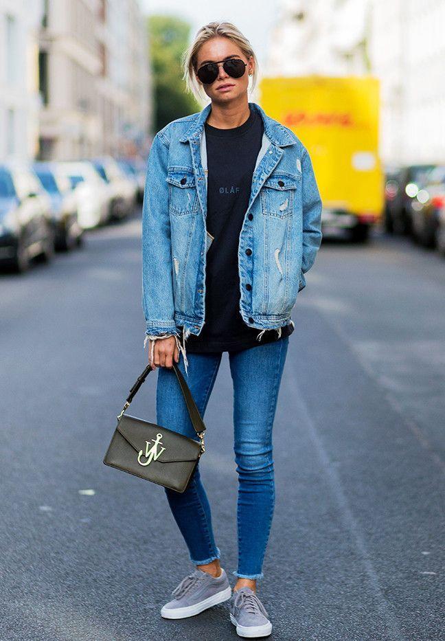Лучшие женские джинсовые куртки