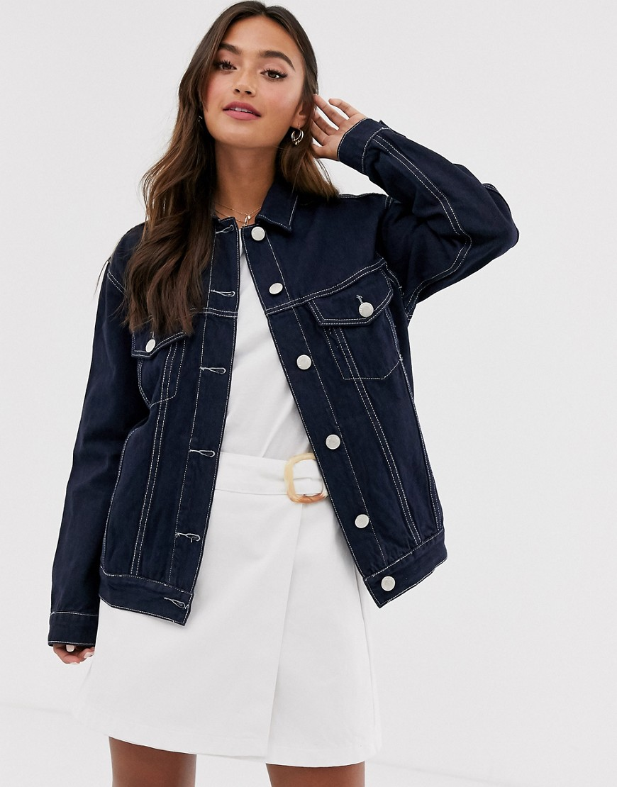 Лучшие черные женские джинсовые куртки