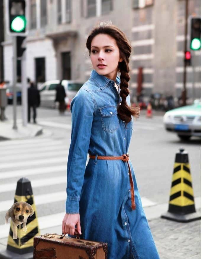 Лучшие джинсовые платья