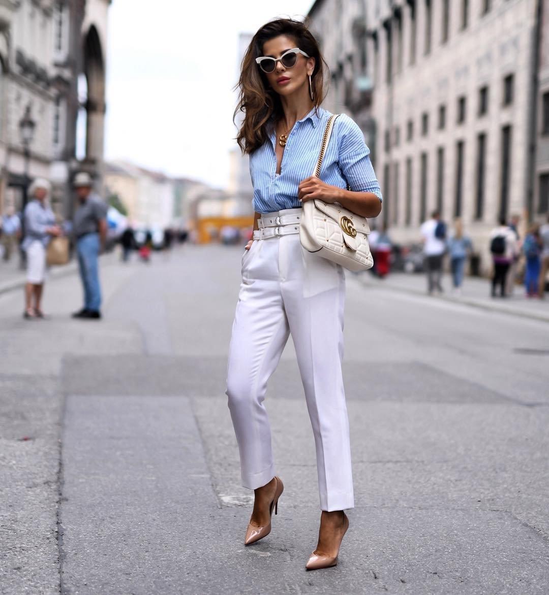 белые штаны женские с чем носить фото чтобы шиншилла съела