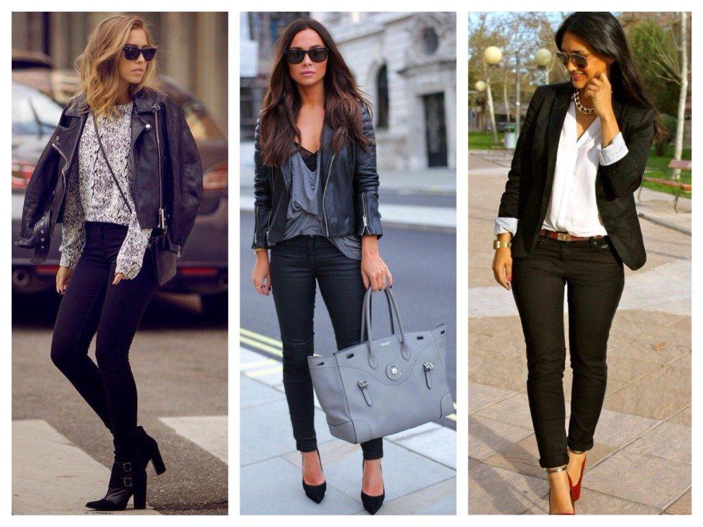 Лучшие женские джинсы скинни с высокой талией