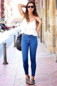 Топ 10 лучших женских узких джинсов с высокой талией