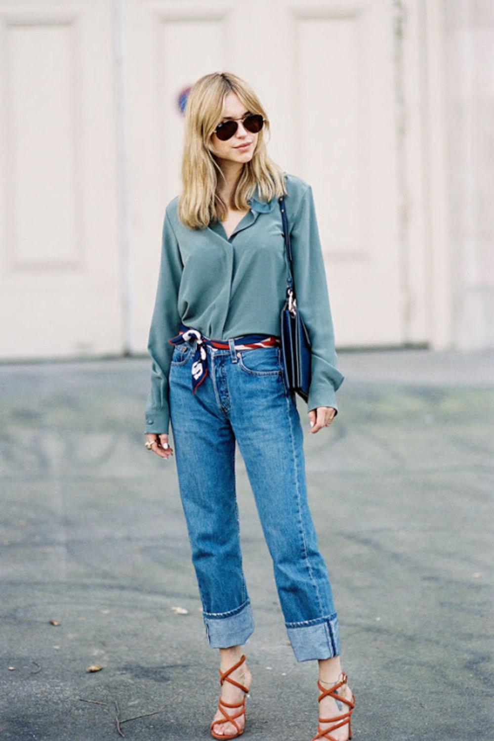 Лучшие женские джинсы бойфренды