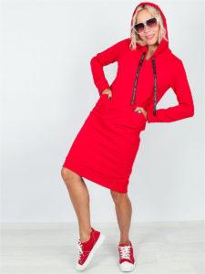 Лучшие  женские платья толстовки