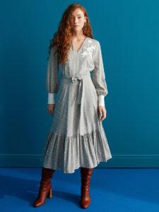 Лучшие повседневные миди платья