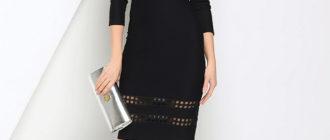 Топ 10 лучших маленьких платьев черного цвета
