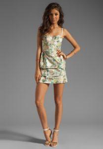 Лучшие  короткие мини платья