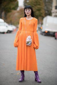 Лучшие трикотажные платья миди