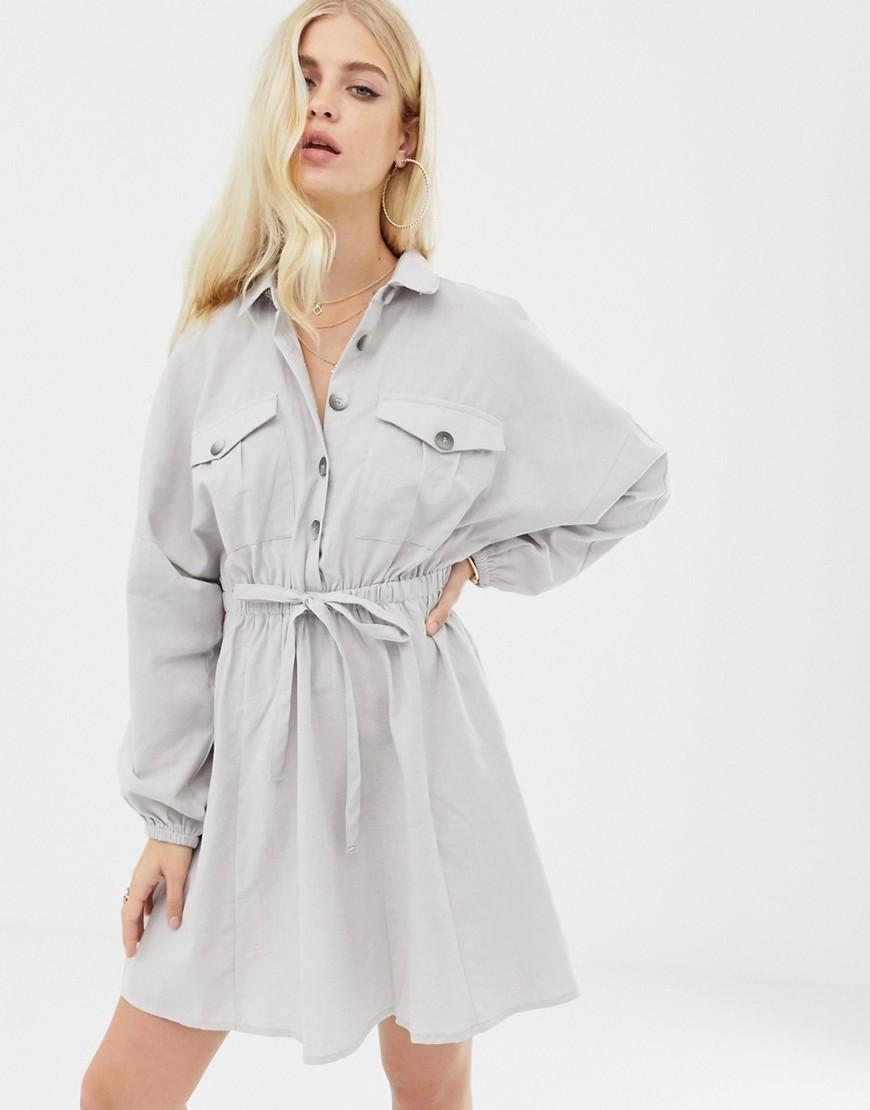 Лучшие платья рубашки  с рукавом