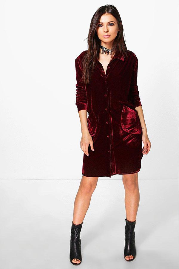 Топ 10 лучших женских бархатных платьев