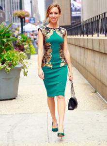 Лучшие платья футляры