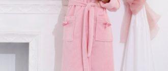 Лучшие женские банные халаты