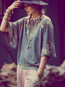 Как одеться в богемном стиле?