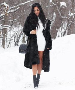 Черно белый стиль в одежде