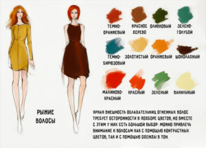 Как подобрать цвет одежды?