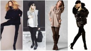 Как и с чем  носить юбку зимой?
