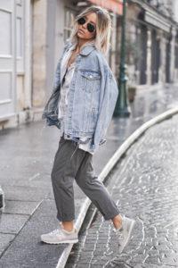 Как носить джинсовую куртку?