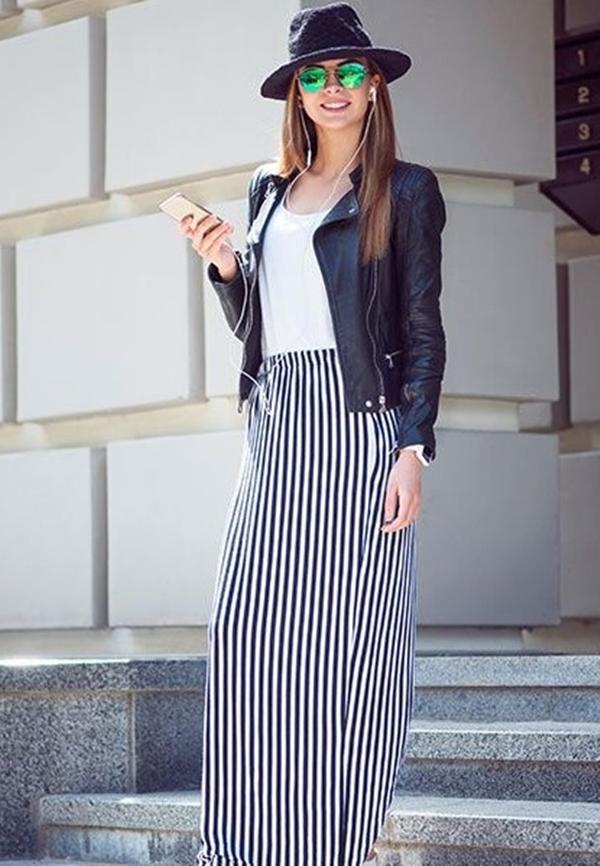 Как правильно носить юбки с высокой талией?