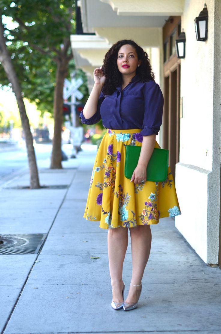 Как красиво и модно одеваться полной женщине?