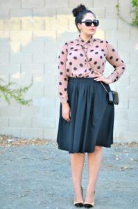 Как стильно одеваться полной женщине?