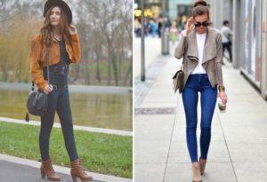 С чем носить женскую замшевую куртку?