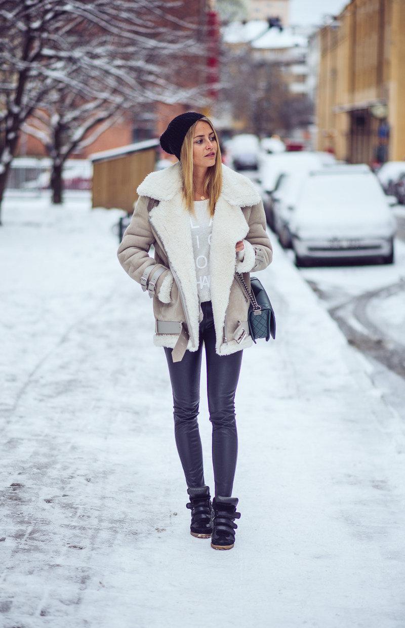 Как модно и тепло одеваться зимой 2021