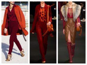 Какие цвета сочетаются с красным  цветом в одежде?