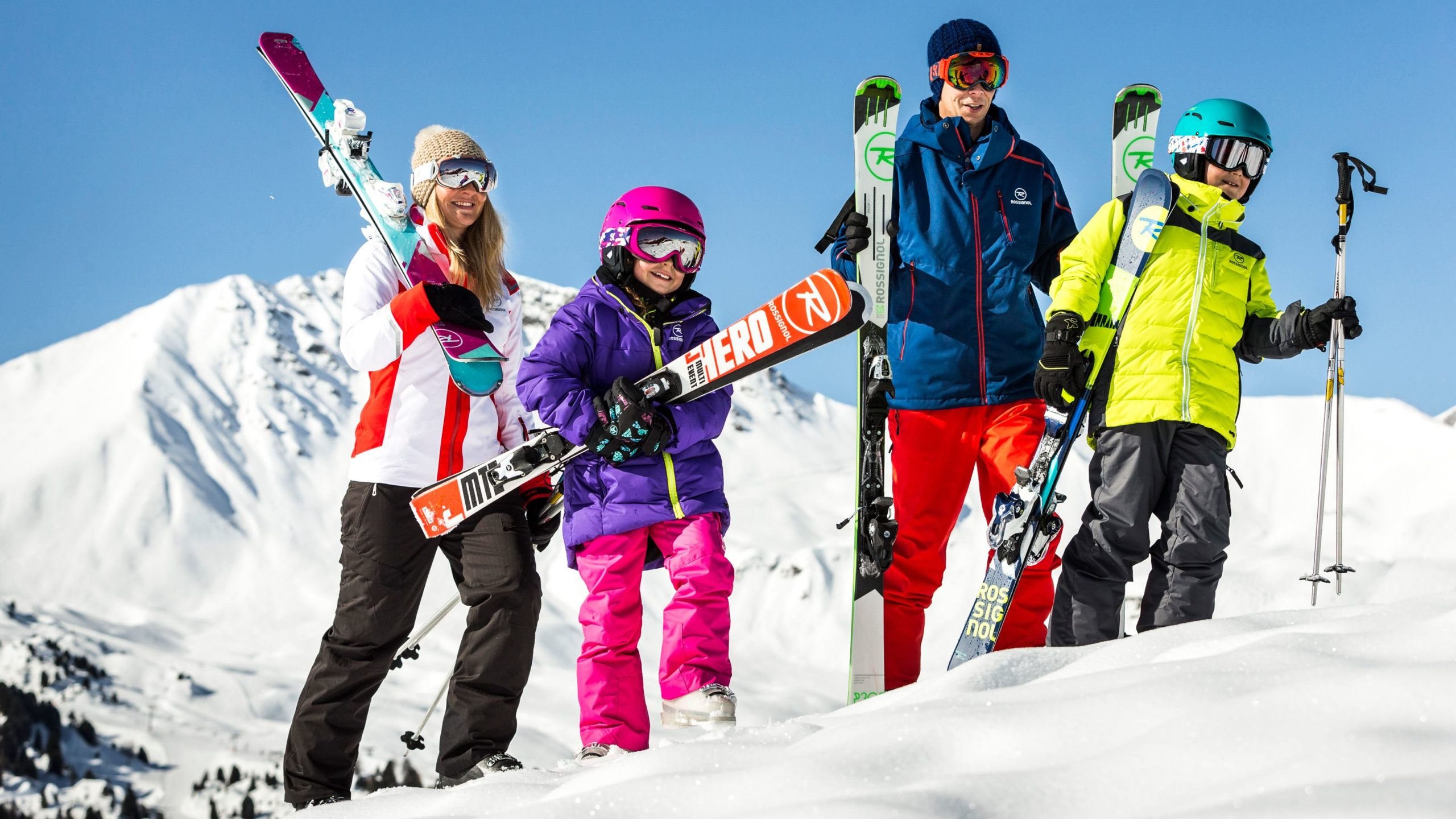 Как одеваться для катания на горных лыжах