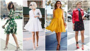 Виды женских платьев