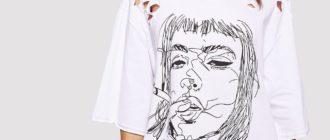 Как носить негабаритную футболку
